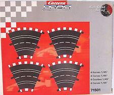 RAR Motorsport Carrera PROFI High Speed Racing Zubehör 4 Stück Kurven Nr. 71501
