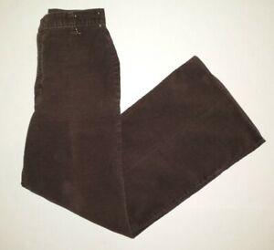 Vintage 70's Levi's Plowboy Farmers Mechanics Miners Brown Cordarory Pants 28