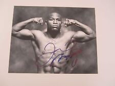 FLOYD MAYWEATHER JR signed 8x10 photo - The Money Team - Manny Pacquiao