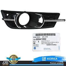 GENUINE Fog Light Cover Bezel FRONT LEFT 11-14 GM Chevrolet Cruze OEM 95980706