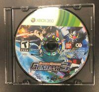 Dynasty Warriors: Gundam (Microsoft Xbox 360, 2007) Xbox 360 Disc Only