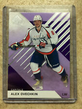 16-17 UD SPGU SP Game Used Purple Parallel #25 ALEX OVECHKIN