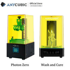 CA SHIPS ANYCUBIC Photon Zero LCD Resin 3D Printer + 2 in 1 Wash& Cure Machine