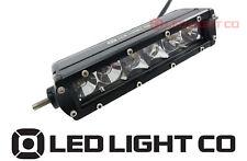 "LED LIGHT BAR 6"" 2950 LUMEN SINGLE ROW 30W CREE LED COMBO BEAM AURORA STYLE"