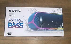 Sony SRS-XB32 Extra Bass Portable Bluetooth Wireless Speaker Blue NEW IN BOX