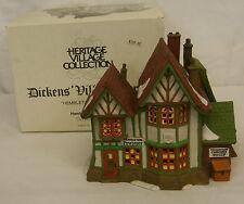 Dept. 56 HEMBLETON PEWTER Dickens Village Series Lighted Building #58009 MIB