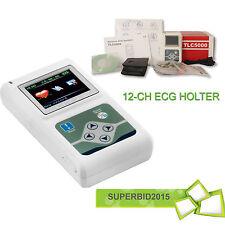 CE Registratore Analizzatore 12 canali   ECG / ECG Holter Monitoraggio Sistema