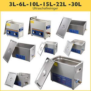 3L 6L 10L 15L 22L 30L  Ultraschall Reinigungsgerät  Ultraschallreiniger + Korb