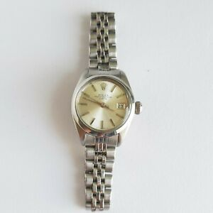 Rolex Oyster Perpetual Date Automatic watch ref. 6919 cal.2030 working well.
