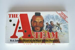 VINTAGE THE A TEAM BOARD GAME PARKER BROTHERS 1984 COMPLETE