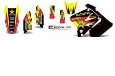 Decal Graphic Kit Suzuki RM 125 RM 250 01-09 RM250 Dirtbike MX Rim Trim Deco RS