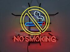 """New No Smoking Business Neon Sign 24"""" Light Lamp Bar Pub Poster Holiday Gift"""