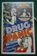 THE DRUG PANIC by Aleister Crowley Limited Edition occult