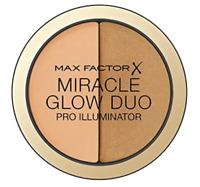 MAX FACTOR MIRACLE GLOW DUO PRO ILLUMINATOR SHADE 30 DEEP NEW