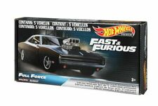 Fast and Furious 5 Car Set Full Force Hot Wheels Real Riders 1 64.