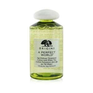 NEW Origins A Perfect World Age-Defense Treatment Lotion With White Tea 150ml