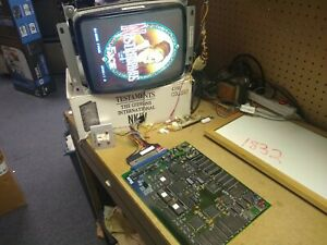 NOSTRADAMUS - 1993 Face - Guaranteed Working COLLECTOR QUALITY JAMMA PCB - RARE!