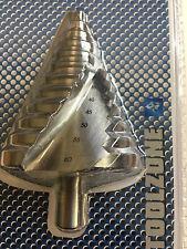 Toolzone 6-60 mm HSS 4341 Spiral Step Drill Bits Power Tool Bit