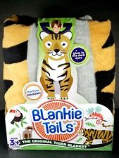 Blankie Tails Original Tiger Blanket Kids Size Climb Inside Fleece. New Package
