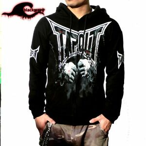 Tapout - Bloody Fists Design - MMA Fighter Seamless Zip Hoodie