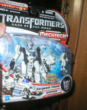 TRANSFORMERS DARK OF THE MOON MECH TECH SGT. CHAOS AND ICEPICK, NEVER OPENED
