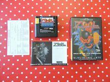 "Zool Ninja of the ""Nth"" Dimension Sega Mega Drive in OVP mit Anleitung"