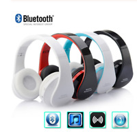 Blutooth Big Casque Audio Cordless Wireless Headphone Headset Auriculares+Mic