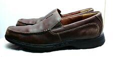 b066af24a2a CLARKS Unstructured Ultra Light Men s Leather Loafers Slip On Shoes 10.5 ...