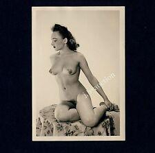 #328 RÖSSLER AKTFOTO / NUDE WOMAN STUDY * Vintage 1950s Studio Photo - no PC !
