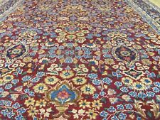 ANTIQUE BEAUTIFUL HANDMADE YAZD PERSIAN CARPET (415 x 250 cm)