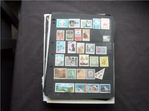 UPA8077 NR 121 pics WORLD MINT & USED STAMPS COLLECTION ON LOOSE LEAVES