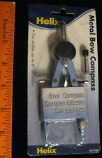 "Helix Metal Bow Compass #37189 For Circles Up To 8"" Diameter Light Blue New!"