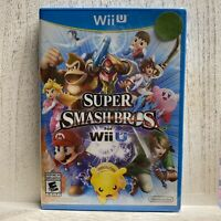 NEW! Nintendo Wii U Super Mario Smash Bros.