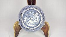 BLUE & WHITE JAPANESE PAGODA BROADHURST IRONSTONE BOWLS SOUP CEREAL DESSERT