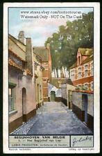 Lier Belgium Belgian Towns City  Scene History 1930s Trade Ad Card