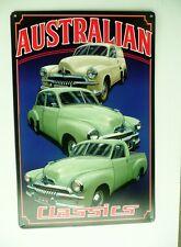 HOLDEN FJ  AUSTRALIAN CLASSIC CARS  Auto Memorabilia Metal tin Sign