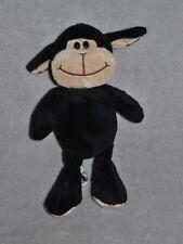 Peluche Doudou Mouton Noir KINDER FERRERO Ours Yeux Durs Noirs 25 Cm TTBE