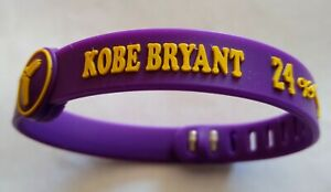 Premium Quality Kobe Bryant Adjustable Size Silicone Wristbands @ Only £5 !