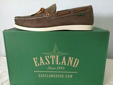 "NIB MEN EASTLAND BOAT SHOES/FOOTWEAR ""YARMOUTH"" SIZE 11M COLOR:GREY OILED"