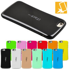 iFace Mall Hybrid Shockproof Rugged Soft TPU Bumper Case Glossy Cover For iPhone