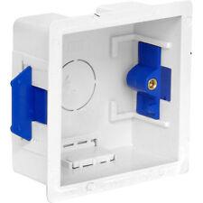 Nueva Caja 1 Gang 45mm Forro Seco, cartón-yeso, eléctrico, pattresses