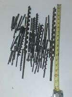 Vintage Lot Of Hand Brace Auger Drill Bits Russell Jennings,and others