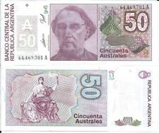 ARGENTINA BILLETE 50 AUSTRALES (1986-89)  P 326b