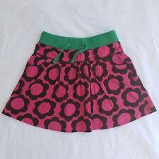 Girls Mini Boden Floral Corduroy Skirt, sz 5/6, EUC