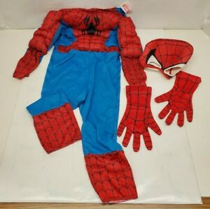 Spider-Man Costume Toddler Boy Size 3T-4T Blue/Red