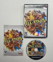 Playstation 2 WWE All Stars Wrestling THQ COMPLETE BLACK LABEL!! PS2