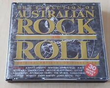 The Evolution Of Australian Rock And Roll Double CD 1992 Oz Import Skyhooks Zoot