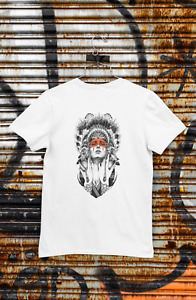 Indian Girl T-Shirt Dad Birthday Funny Print Gift Man Cotton Customised