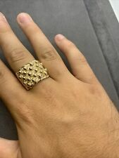 New 9ct Gold Keeper Ring Size Y