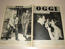OGGI=1959/12=SORAYA=MARIO RIVA=MAX CONRAD=FRANCOIS PERRIER=JACQUES CHARRIER=